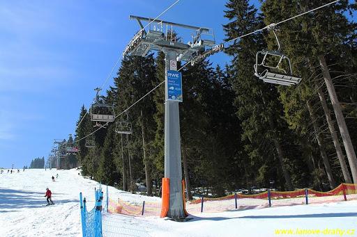 Ski resort Černá Hora – lanovka Zahrádky Express